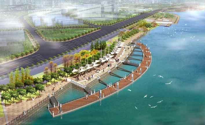 滨河景观设计