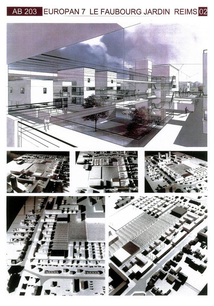 建筑学 毕业设计 作业 排版 展览 4