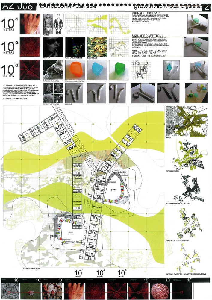 优秀建筑设计作业排版