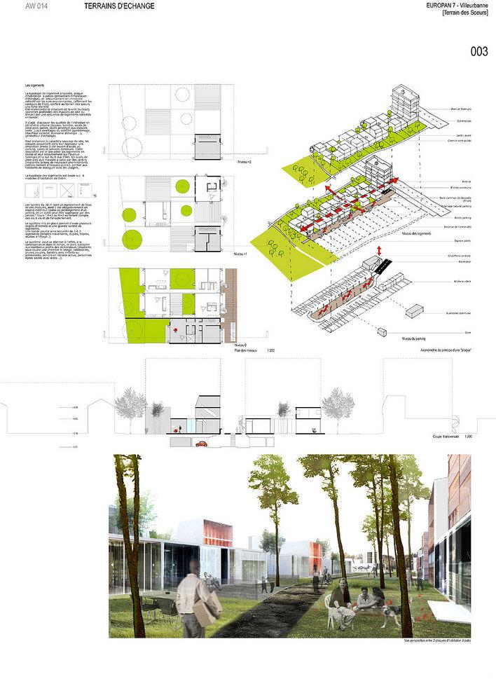 建筑学 毕业设计 作业 排版 展览 6