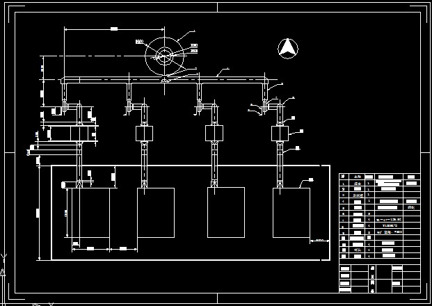 锅炉烟气除尘平面设计图