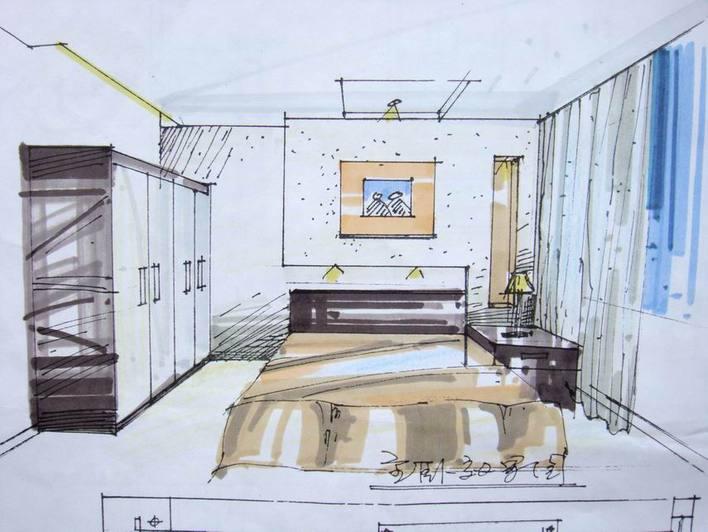 bca) 欧式风格小庭院设计(cad 手绘平面效果全套) 欧式古典样板别墅