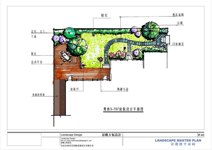 花园平面图_cad图纸下载-土木在线