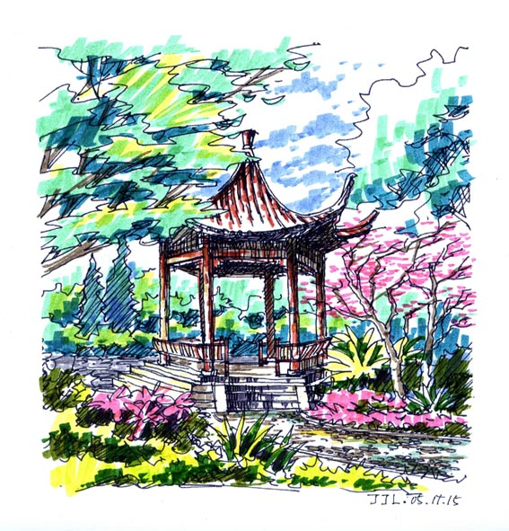 园林设计图  手绘图    手绘   相关专题:大堂手绘图 手绘图 景观小品