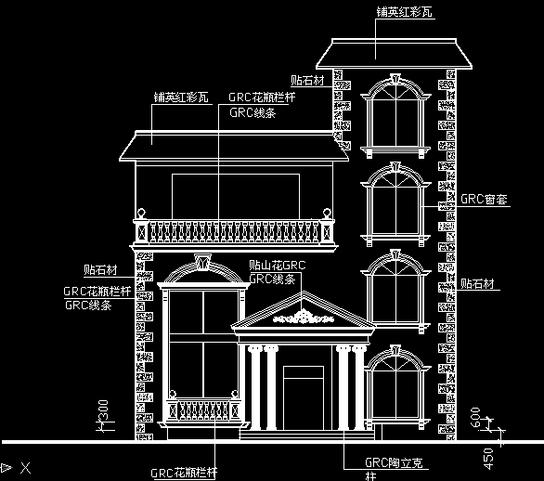 别墅设计图_cad图纸下载-土木在线