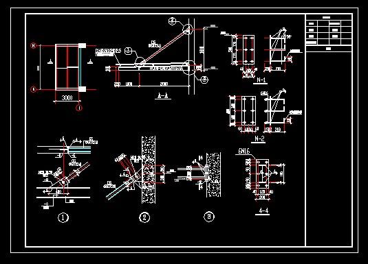 折叠雨棚制作图解