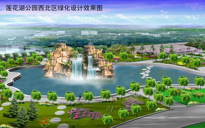 图纸 园林设计图 假山,瀑布,水景效果  上传时间:2009-06-28 所属分类