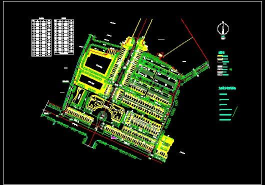 园林规划平面图 园林规划设计图cad  所属分类:建筑图纸  园林规划图