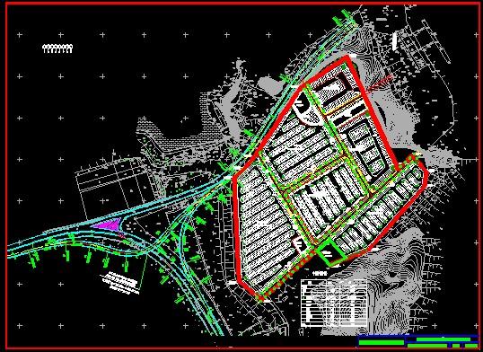 室外停车场设计图展示