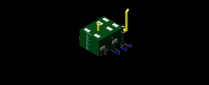钢结构厂房整套图纸 (包括建筑,结构,设备,电气,暖通) 某罐区及装车