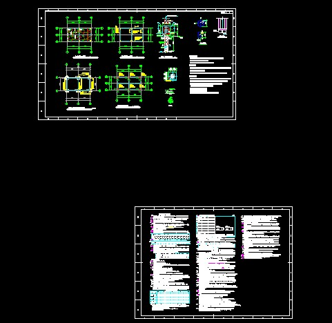 【设计施工图】水泵房设计施工图_cad图纸下载_土木