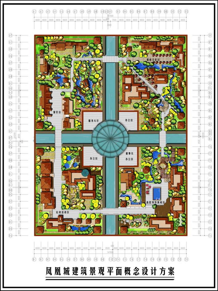 相关专题:楼顶景观三亚凤凰岛建筑楼顶景观设计景观方案平面图建筑