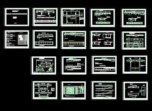 通桥2322a现代小洋房设计图纸图片