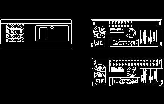 监控系统CAD图标图片