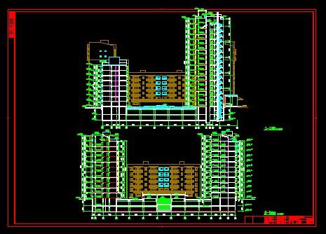 建筑剖面示例