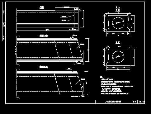 16米会审板通用图小区空心市政图纸图片