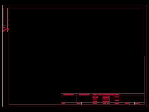 图框cad室内设计图框设计图纸图框建筑设计图框景观设计平面图图框