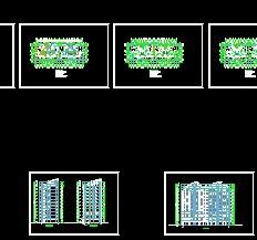 小高层住宅设计图 高清图片