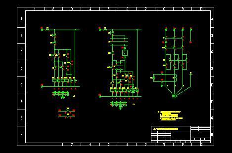 两台电动机控制电路图 电动机启动停止电路图 电动机延时启动电路图