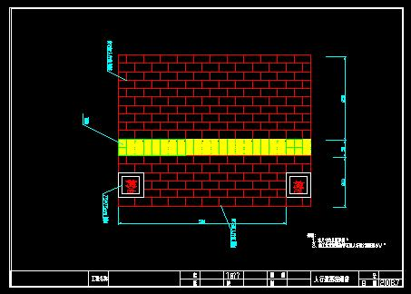 铺装样式人行道施工图人行道栏杆大样图人行道效果图 高清图片
