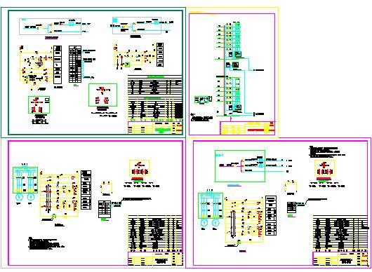 多功能潜水泵安装图
