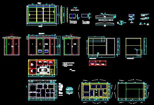 某400kva工程配电设计施工图 400kva箱式变电站高低压系统图 某房地产图片