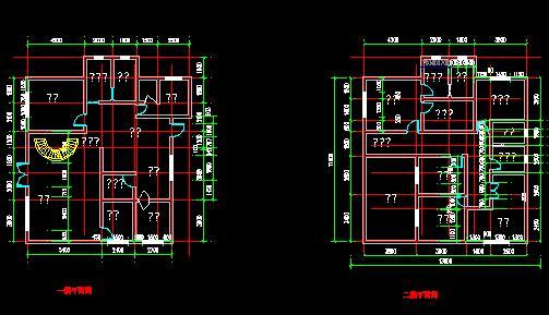 一套详细的别墅施工图
