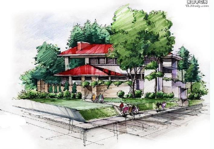 建筑表现素材 相关专题:  上传时间:2009-10-10 所属分类:园林设计图&