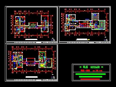 别墅中央空调设计图纸