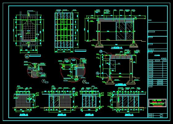 门卫室施工图_co网架在线(原网易土木在线)土木图纸300WSR意思是什么图片