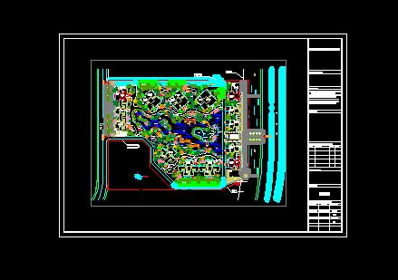 某私宅空中花园平面图