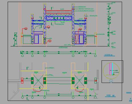 钢结构大门设计图