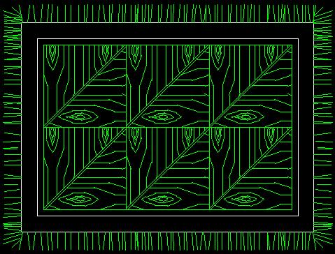 中式花纹样图_cad图纸下载-土木在线