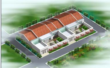 一层房屋效果图;; 农村住宅设计图新农村盖平房