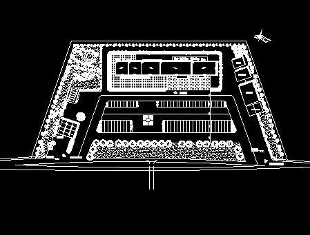 高速公路服务站设计图