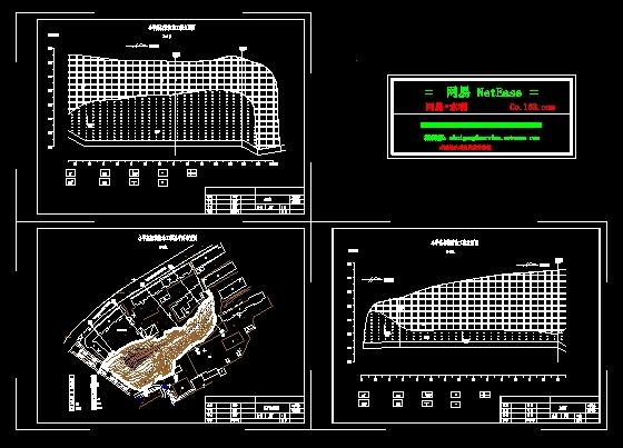 建筑总平面布置图 房屋平面布置图 变电所平面布置图 隧道施工平面