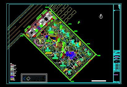 别墅区总平面图