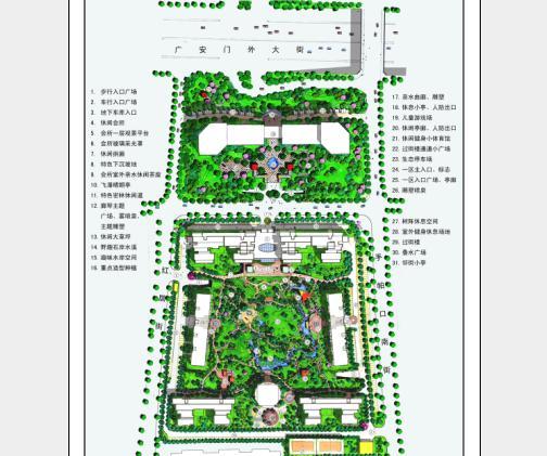 edsa朗琴园总平面图
