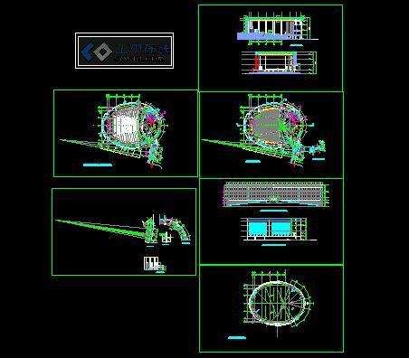 大学 报告厅 图书馆设计图