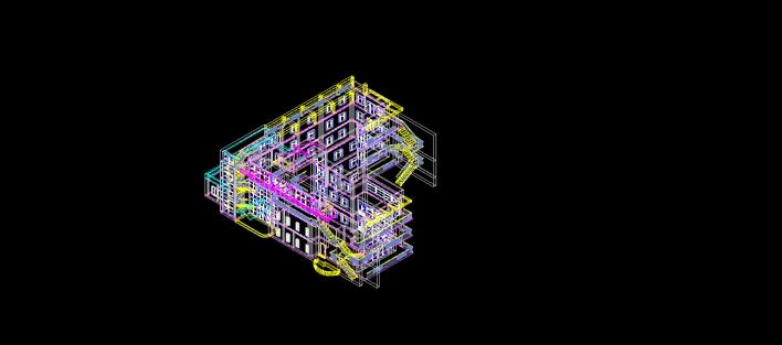 CAD--3维方案楼房图纸银制与创造魔法图片