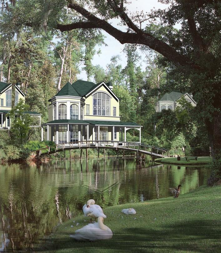 欧洲乡村别墅图片_欧洲别墅设计图片_欧洲别墅设计图片下载