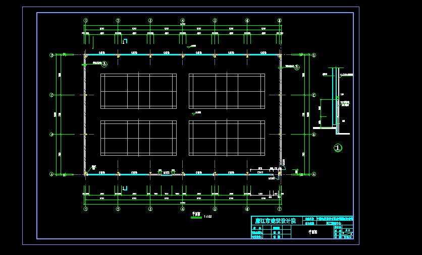 羽毛球场设计图图纸精华免费下载_CO土木在v图纸不图纸责追按图片