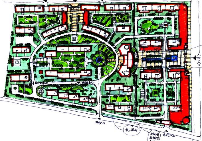 居住小区规划