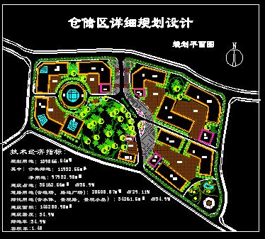 仓储区详细规划设计图片