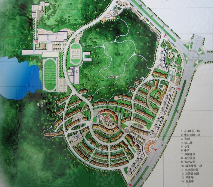 居住区平面图_cad图纸下载-土木在线
