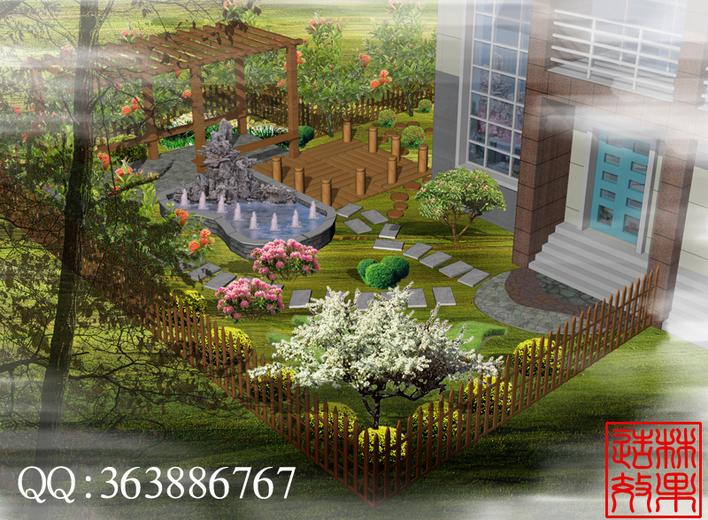 别墅设计 景观规划