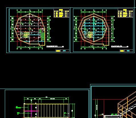 现代(山东)重工业机械工程结构件,涂装车间建筑及钢结构图纸 120米