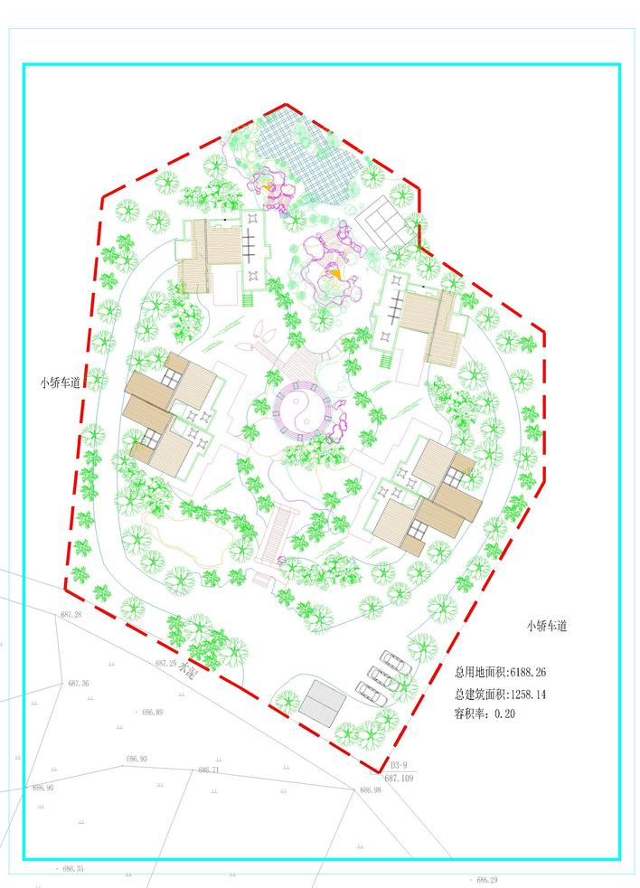 图纸 建筑图纸  乡村方案   小户型别墅  相关专题:乡村道路施工方案