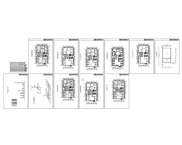房屋装修设计水电图