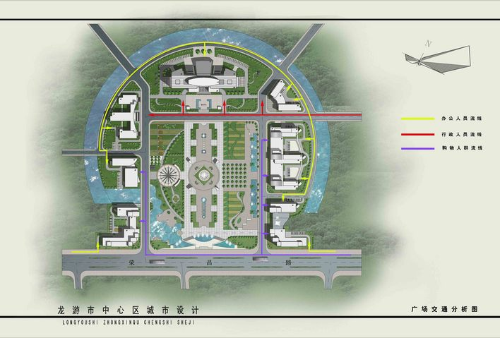 独特,很有参考价值  相关专题:城市中心设计 城市中心区快题设计 城市